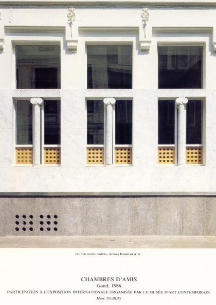 """Tentoonstelling """"Chambres d'Amis"""" in het Design museum Gent"""