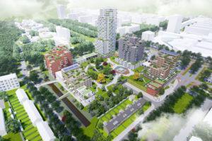 Woontorens op plek HBG in Rijswijk