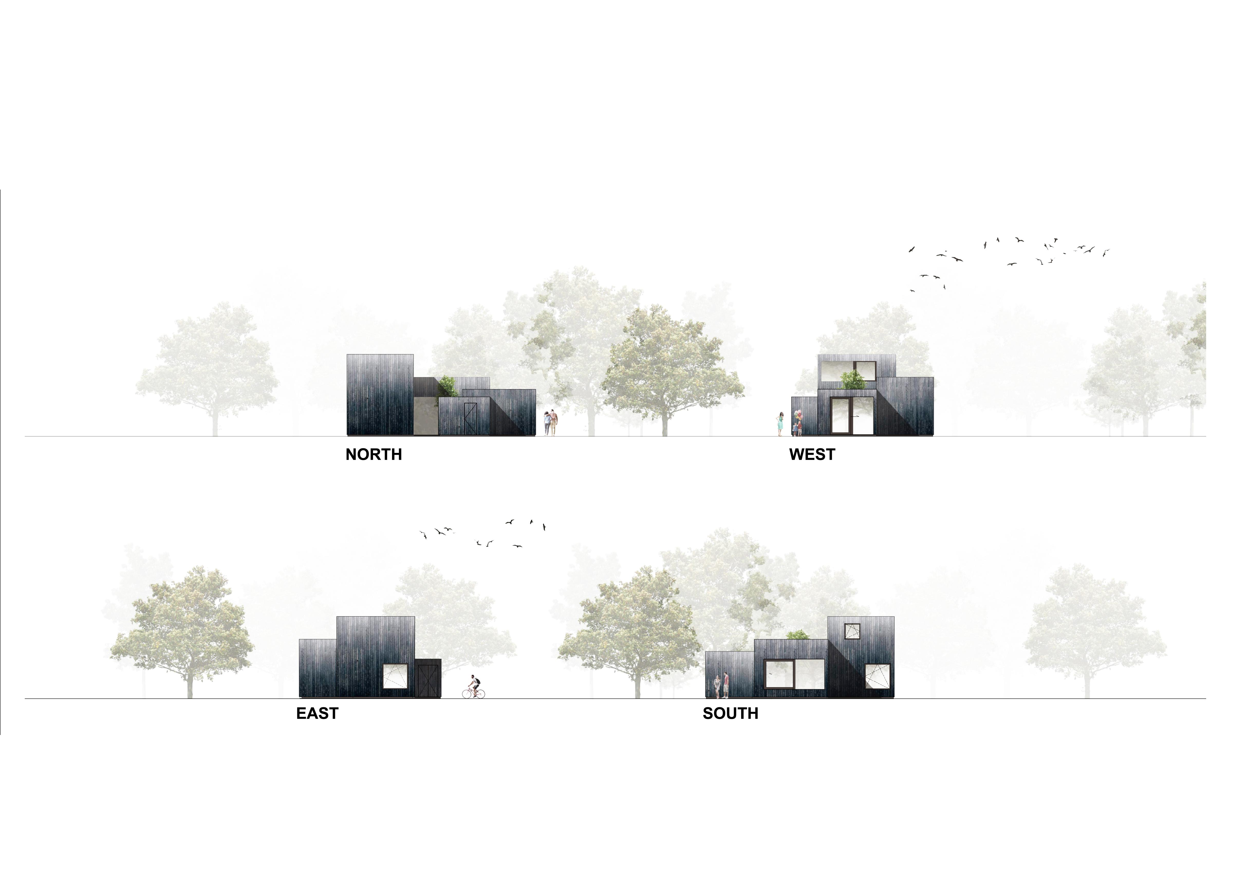 <p>Tiny Holiday Home in Vinkeveen door i29 interior architects en Chris Collaris</p>