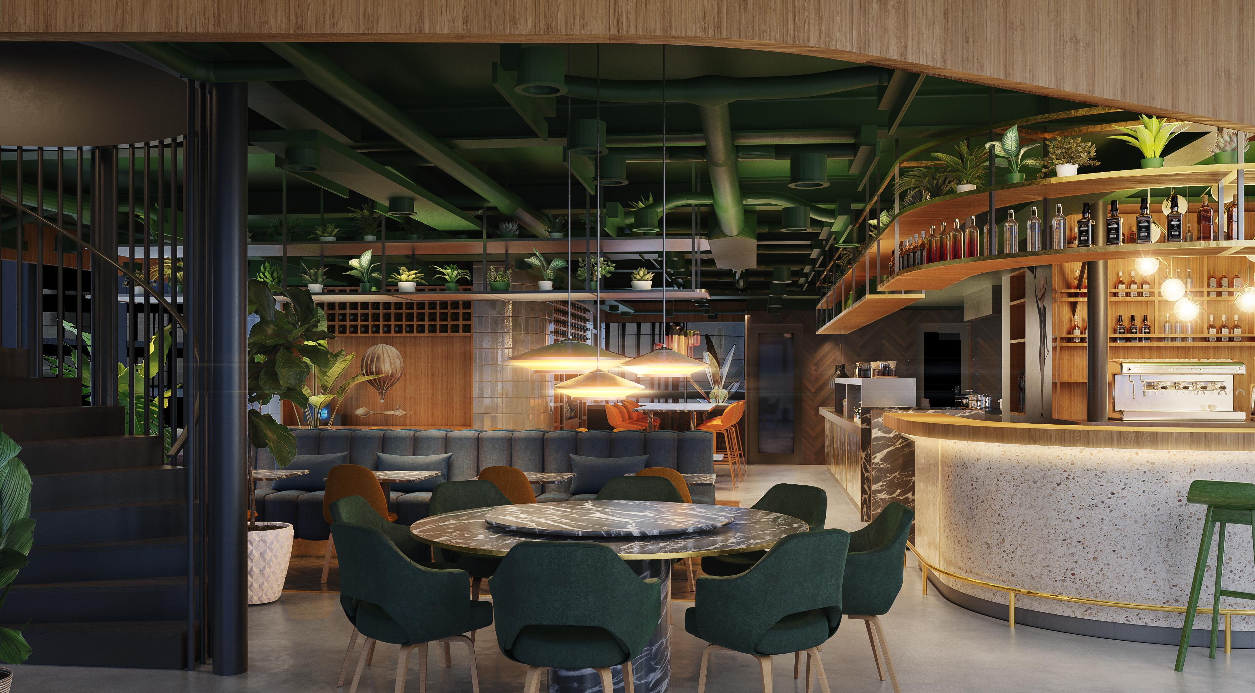 <p>Interieur restaurant begane grond. Beeld: Powerhouse Company</p>