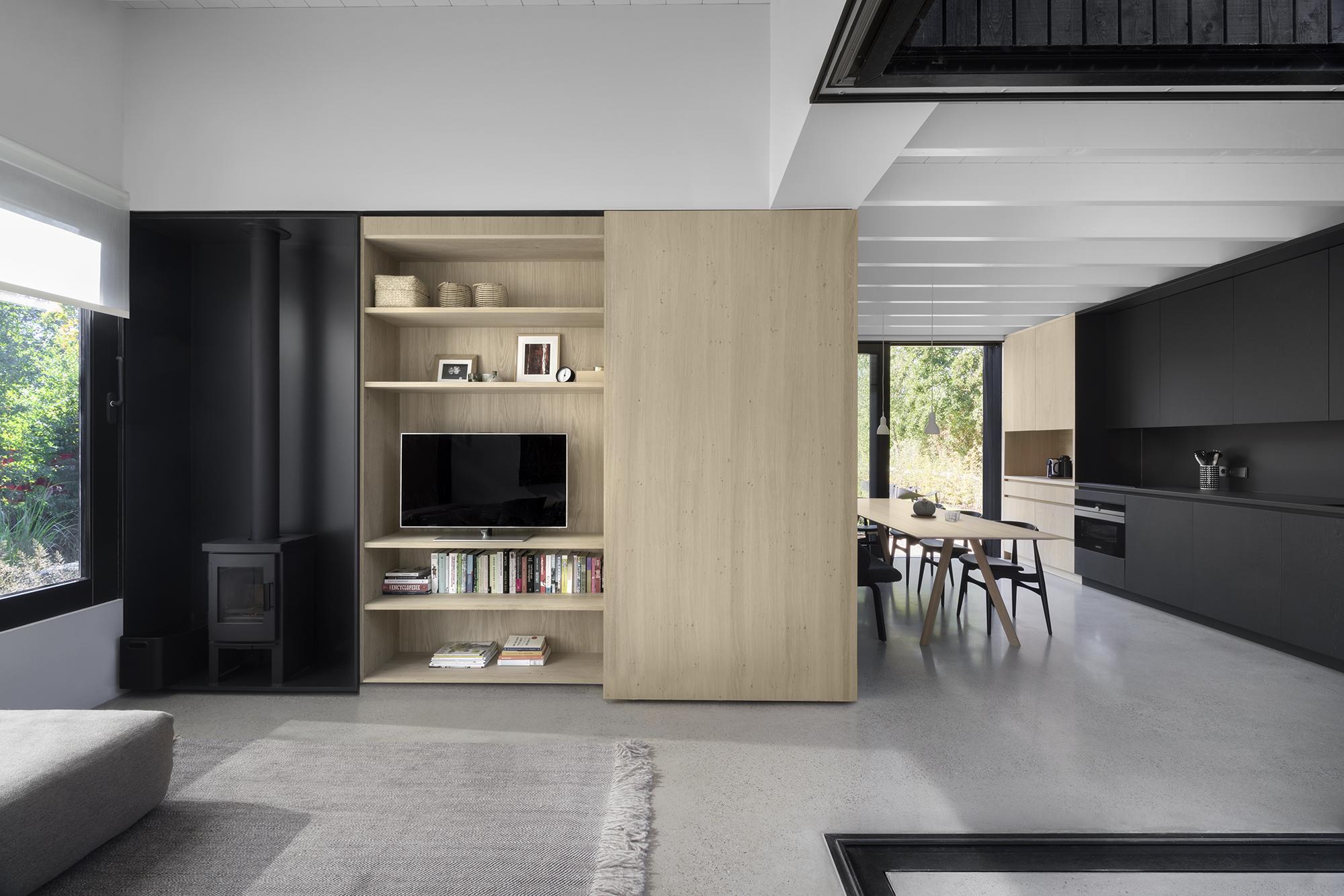 <p>Tiny Holiday Home in Vinkeveen door i29 interior architects en Chris Collaris, beeld Ewout Huibers</p>