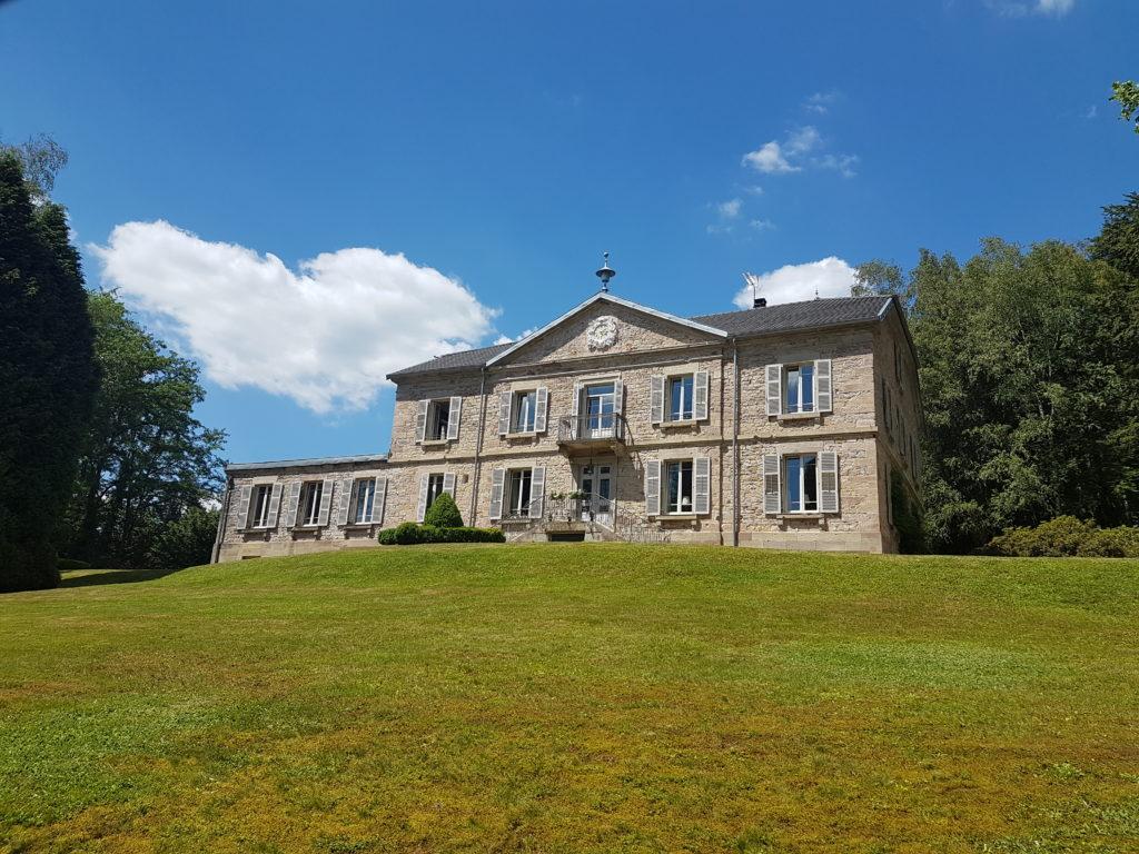 Château de la Houillère in Champagney, beeld Misak Terzibasiyan