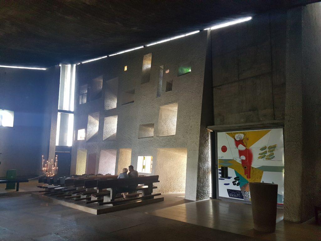 Notre Dame du Haut in Ronchamp, beeld Misak Terzibasiyan
