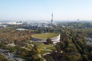 Nieuwe sportarena in München