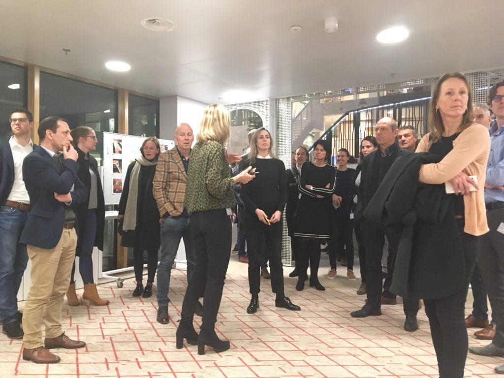 Projectbezoek Goede Doelen Loterijen in Amsterdam met Benthem Crouwel Architects en D/DOCK, beeld Marieke Giele