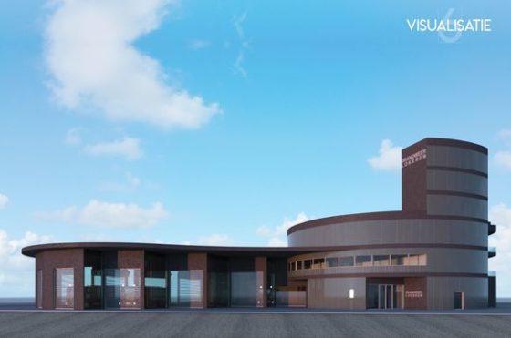 Nieuwe brandweerkazerne in Lokeren door Architecten Atelier