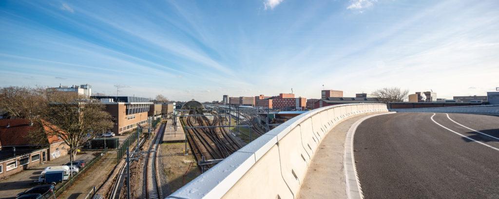 Busbrug Zwolle door ipv Delft-Walter Firsart. Beeld: FOTOwerk