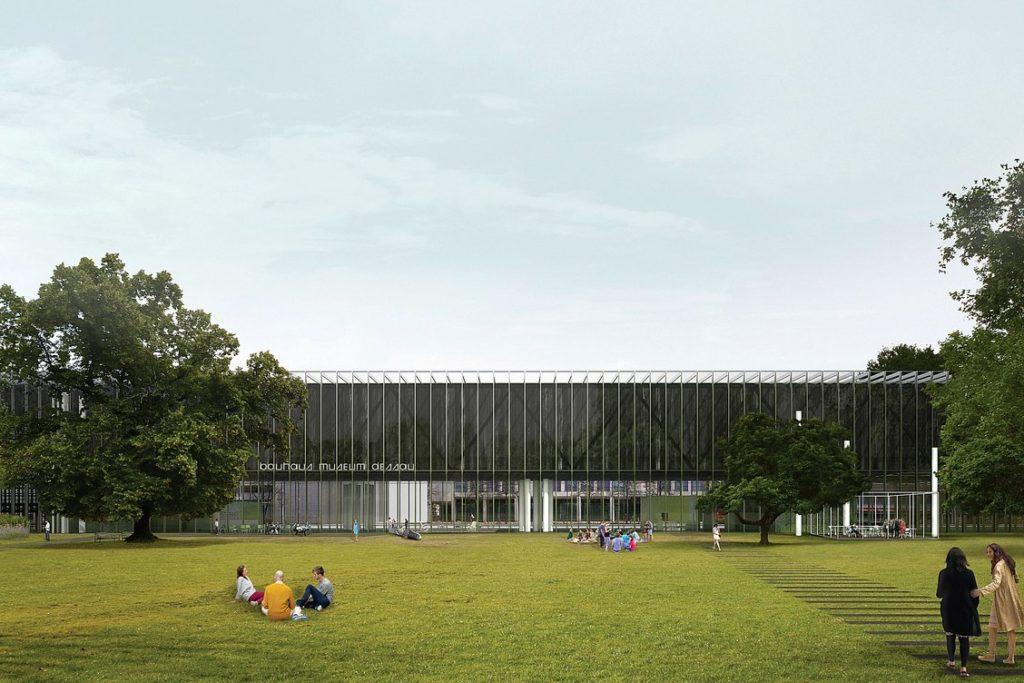 Bauhaus Museum Dessau door addenda architects