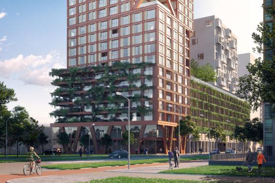Verticale stad in Haagse Binckhorst door LEVS architecten