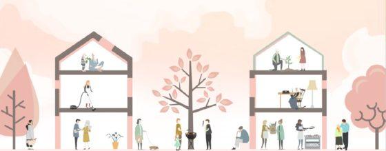 De inclusieve wijk voor sociale cohesie