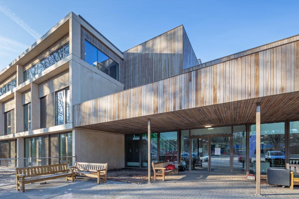 Mytylschool De Trappenberg in Hilversum door MAS architectuur, beeld Laurens Kuipers