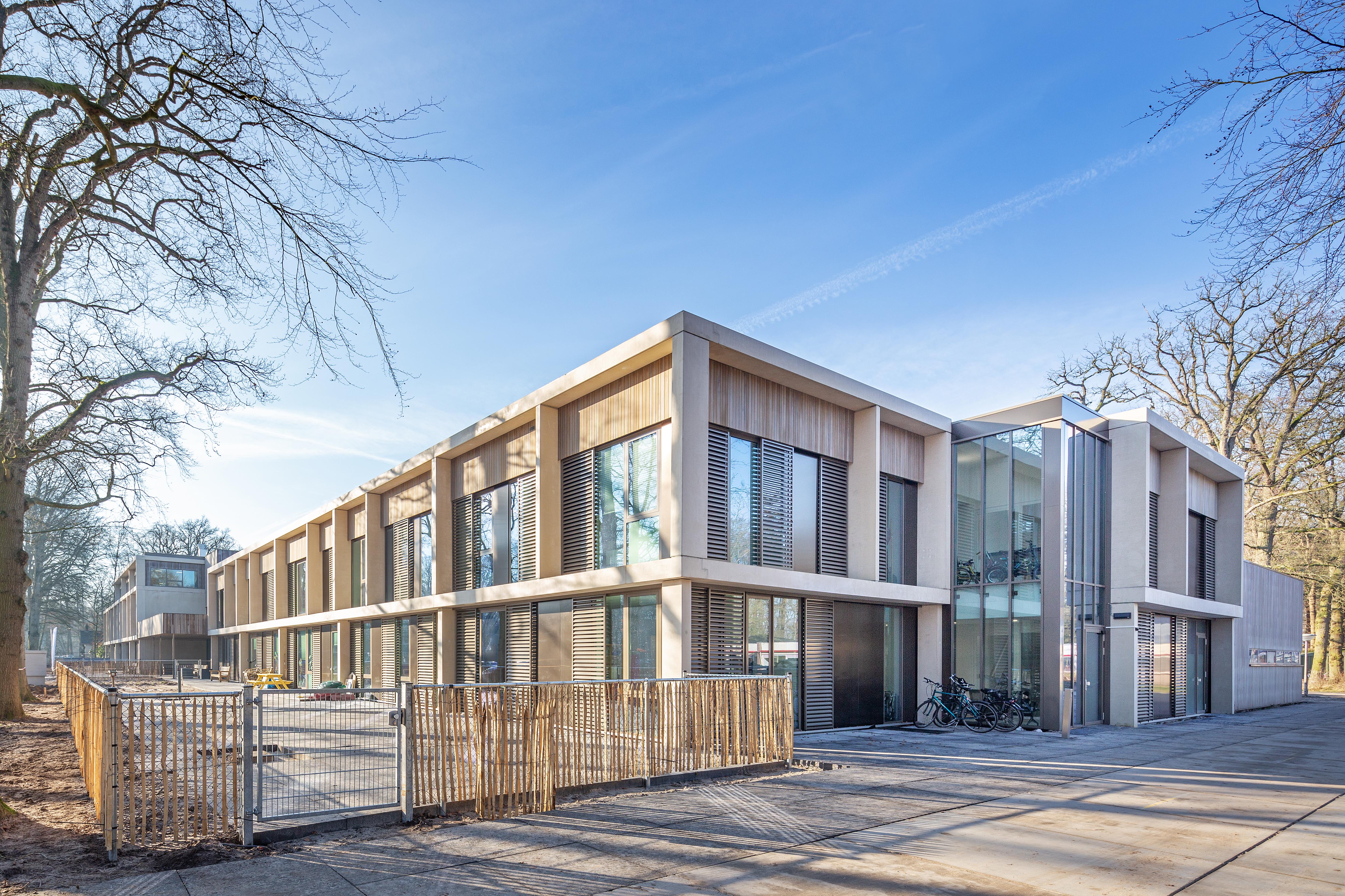 <p>Mytylschool De Trappenberg in Hilversum door MAS architectuur, beeld Laurens Kuipers</p>