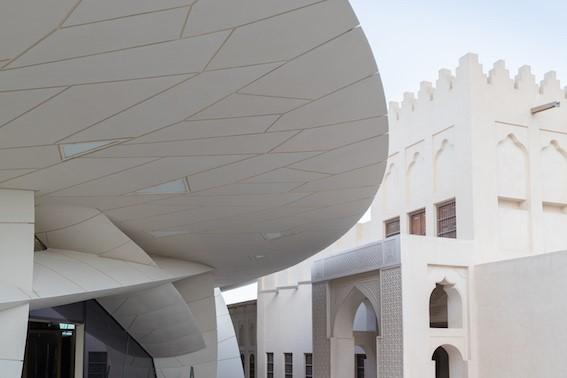 National Museum of Qatar door Jean Nouvel. Beeld: Iwan Baan
