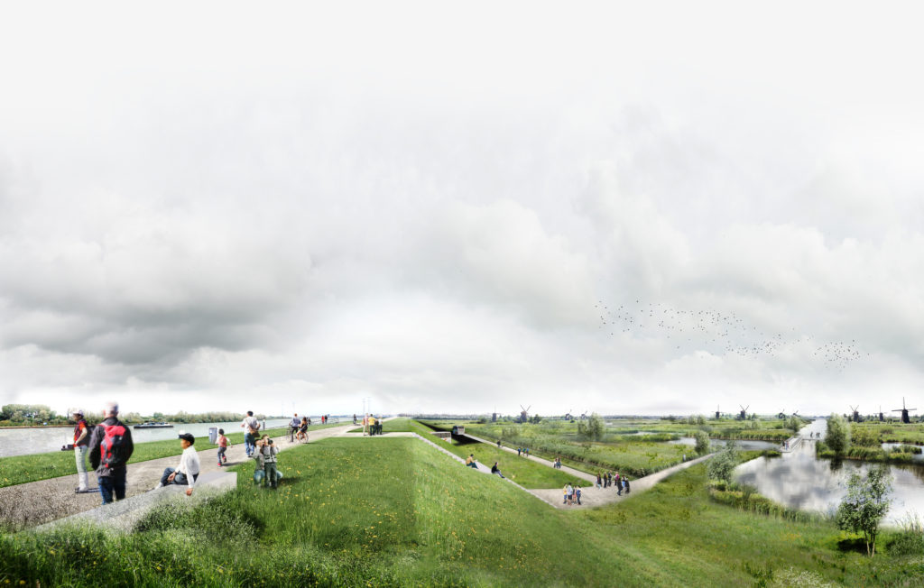 LEKDIJK-PARK-Prijsvraag entree Kinderdijk