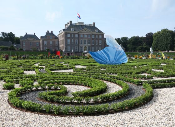The Garden of Earthly door Libeskind bij Paleis Het Loo