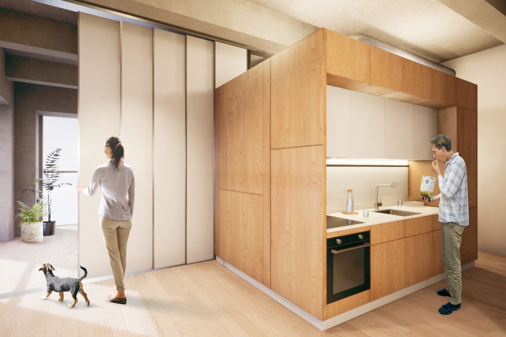 MOR_TUDelft_Impressie Keuken