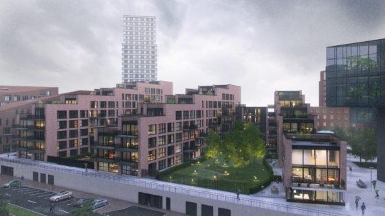 Bouw appartementencomplex Belvédère Den Bosch bereikt hoogste punt