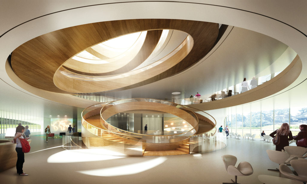 Olympic-House-Interieur. 3XN Forbes Massie