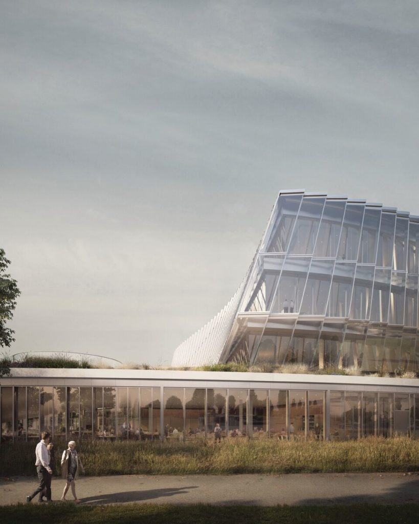 3XN Olympic House. Beeld: 3XN Forbes Massie