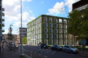 Plannen Polderweg: De Groene Amsterdammer door Marc Prosman Architecten
