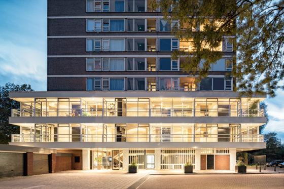 Transformatie kantoormantels naar Urban lofts – BNLA architecten en Bureau Fraai