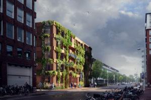 Plannen Polderweg Amsterdam: Woongebouw De Linné door Knevel Architecten