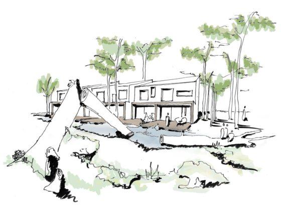 Groosman wint architectenselectie Kreekbos Zuid Dijkdeel in Almere DUIN