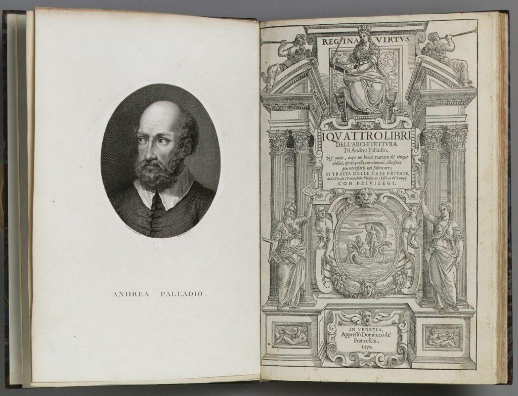 I quattro libri dell'architettura door Andrea Palladio