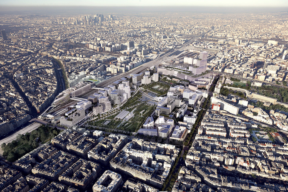 Green Office® ENJOY in Parijs door Baumschlager Eberle Architekten en SCAPE, beeld Vectuel-Studiosezz-PBA