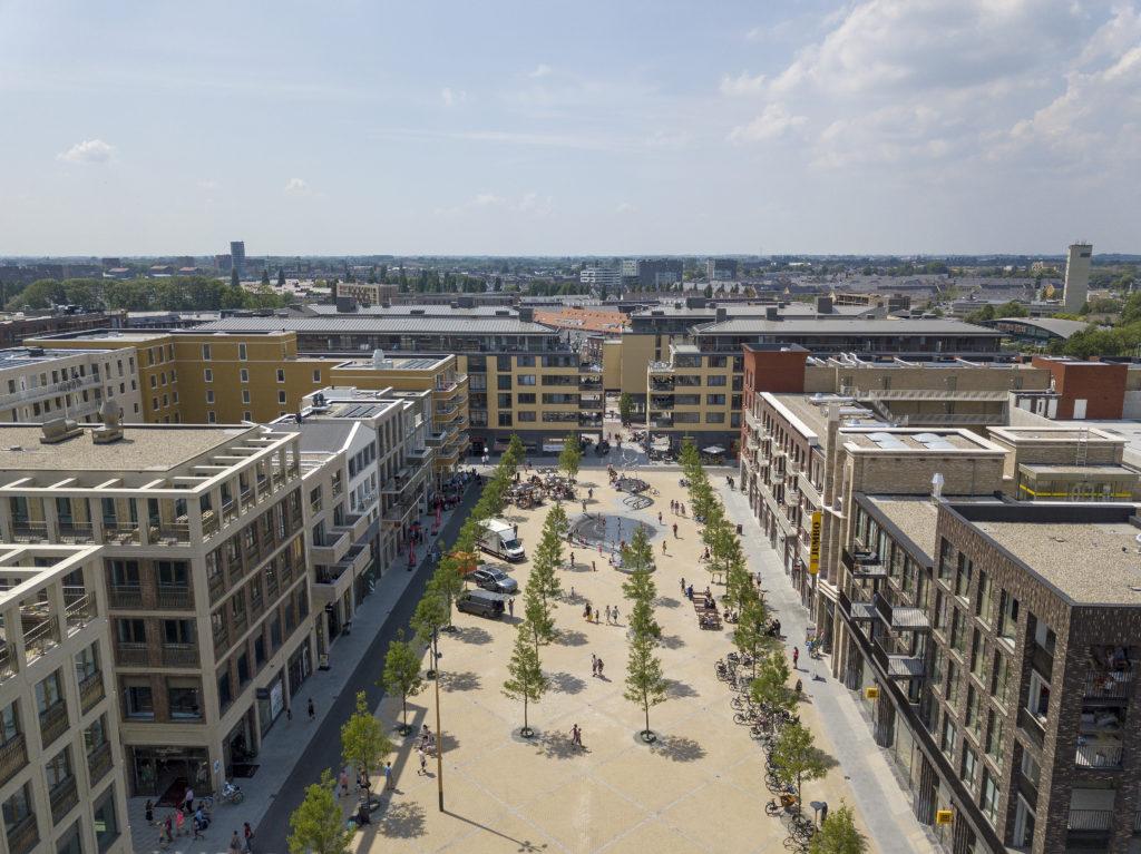 Leidsche Rijn Centrum Brusselplein Beeld Luuk Kramer