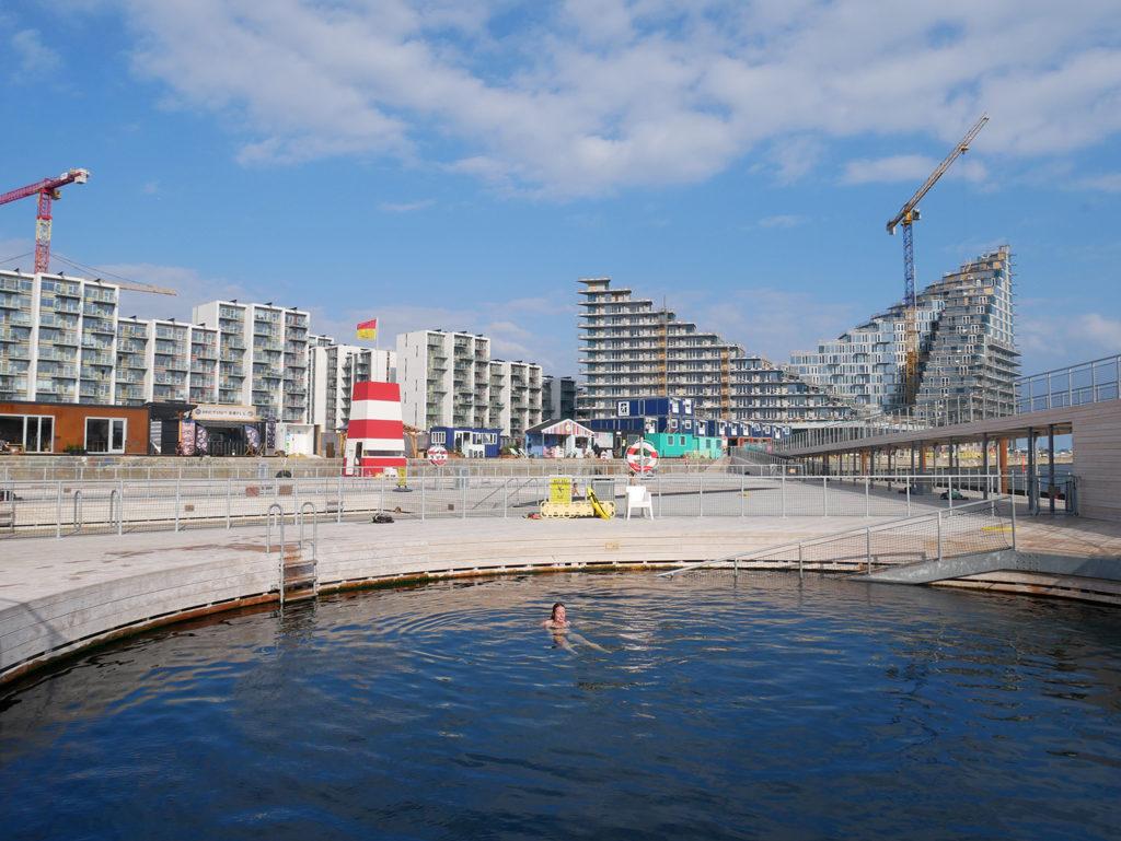 Aarhus Harbour Bad in Aarhus (Denemarken), beeld Robbert Guis