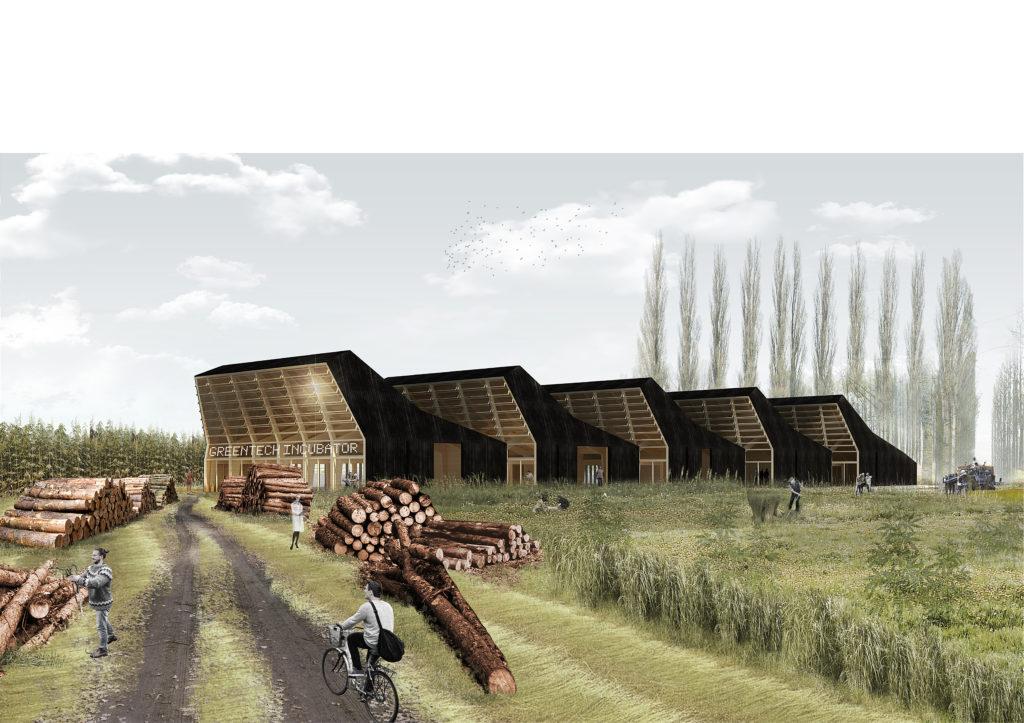 Pilotproject GreenTech Incubator - de Architect maart 2019 - thema platteland