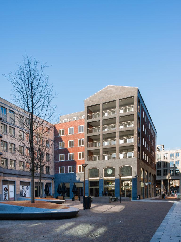 Gebouw aan Hof van Bern, ontwerp Kollhoff & Pols Architecten. Beeld MWA Hart Nibbrig