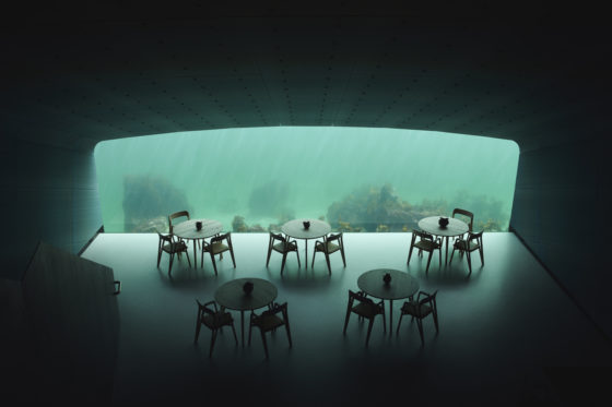 Snøhetta realiseert onderwater-restaurant 'Under' in Noorwegen