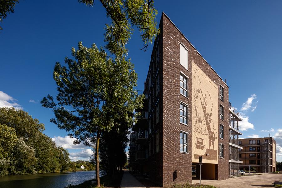Van Nieuwenhuizen NV in Nieuwegein door Hans Been Architecten