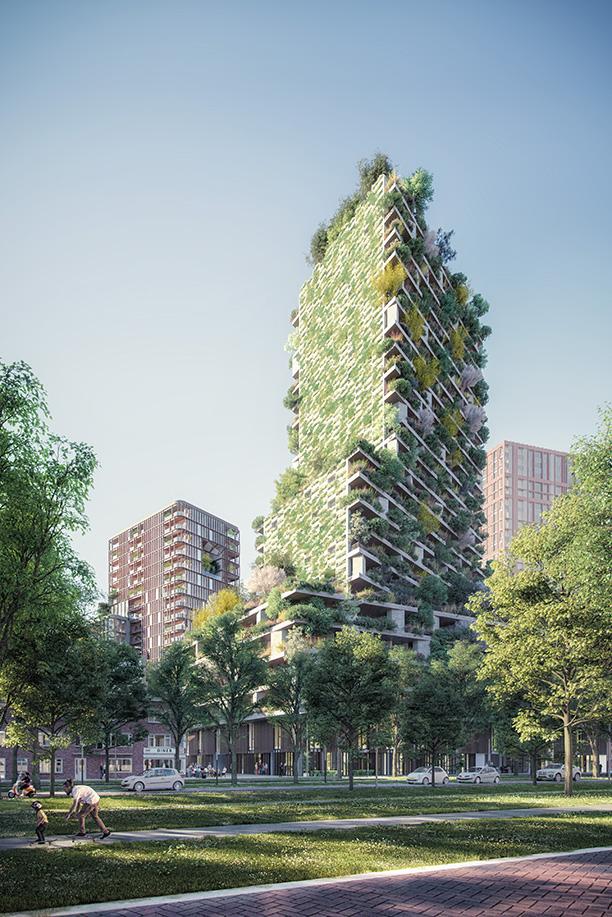 Wonderwoods door MVSA Architects + Stefano Boeri Architetti