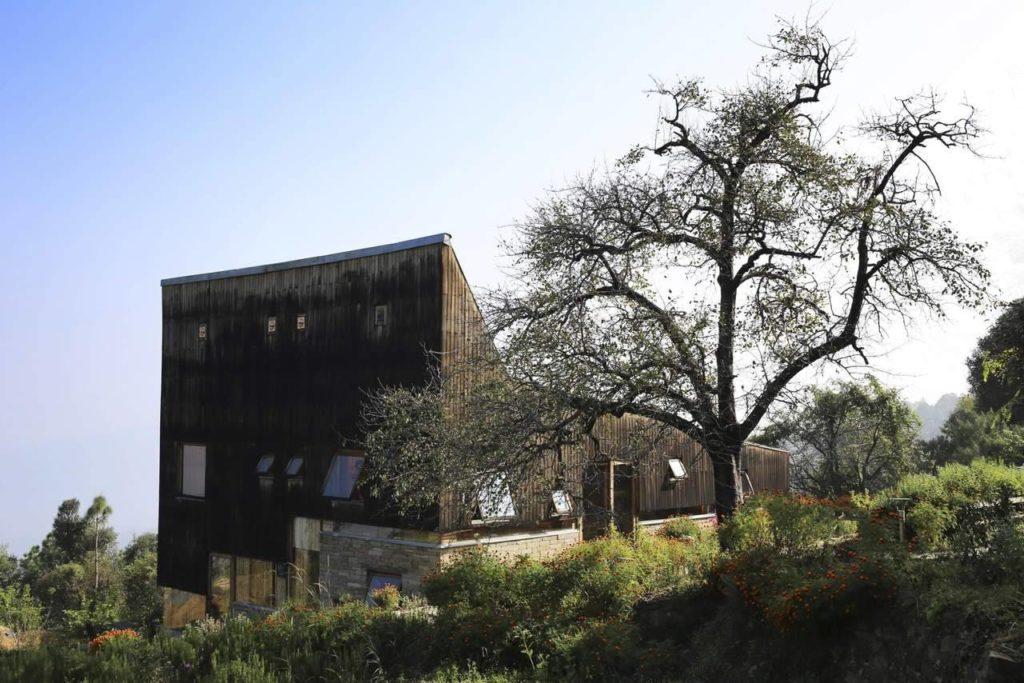 Woodhouse Farm Satkol in India door Matra Architects, beeld Edmund Sumner