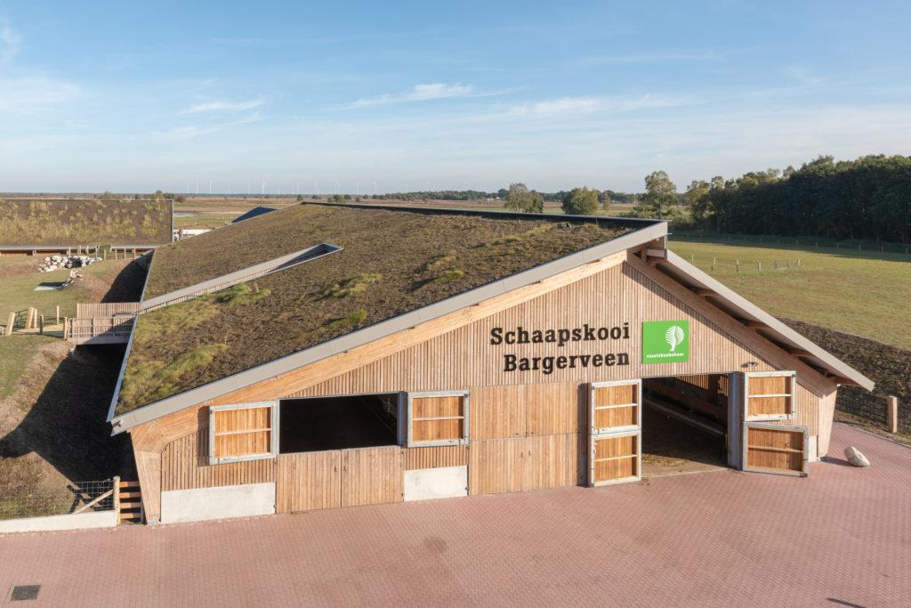Schaapskooi het Bargerveen door DAAD architecten. Beeld: Walter Frisart FOTOwerk