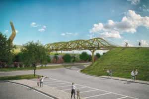 NIO architecten bouwt brug The Fifth Element in Italië