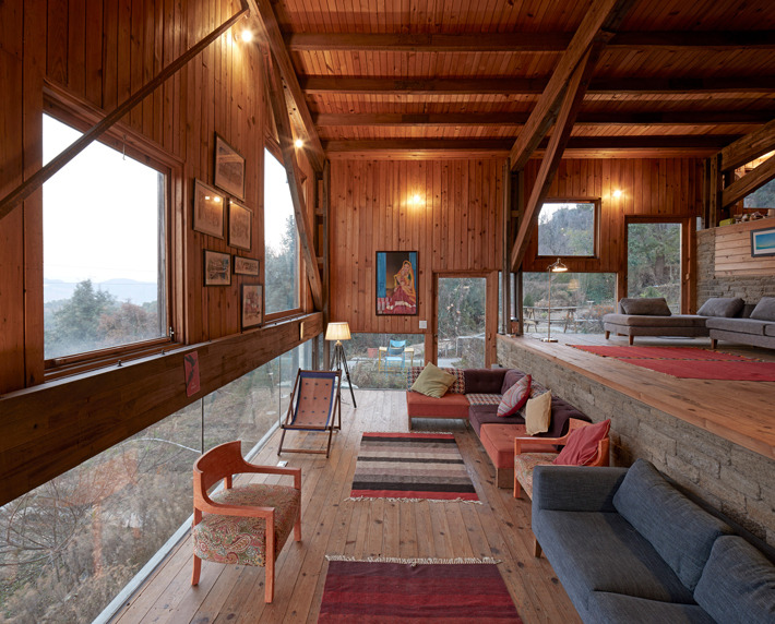 Woodhouse Farm Satkol in India door Matra Architects, beeld Edmund Sumner