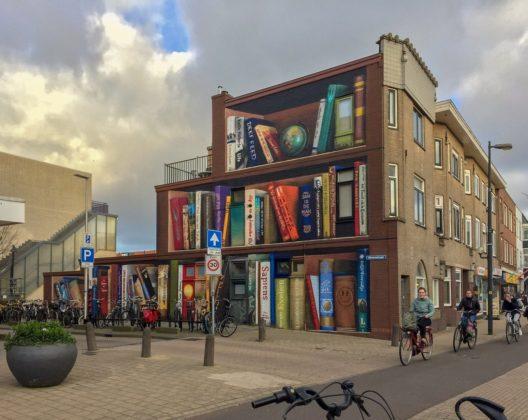 'Utrechtse boekenkast' van JanIsDeMan gaat internationaal