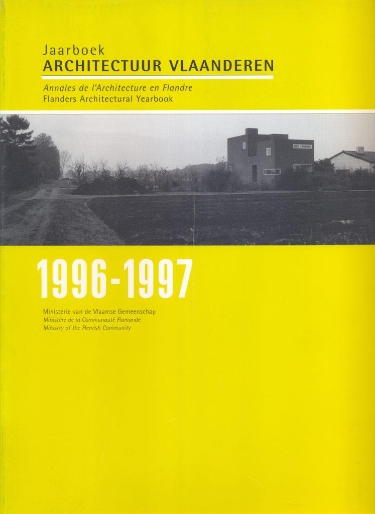 Jaarboek Architectuur Vlaanderen 1996/1997