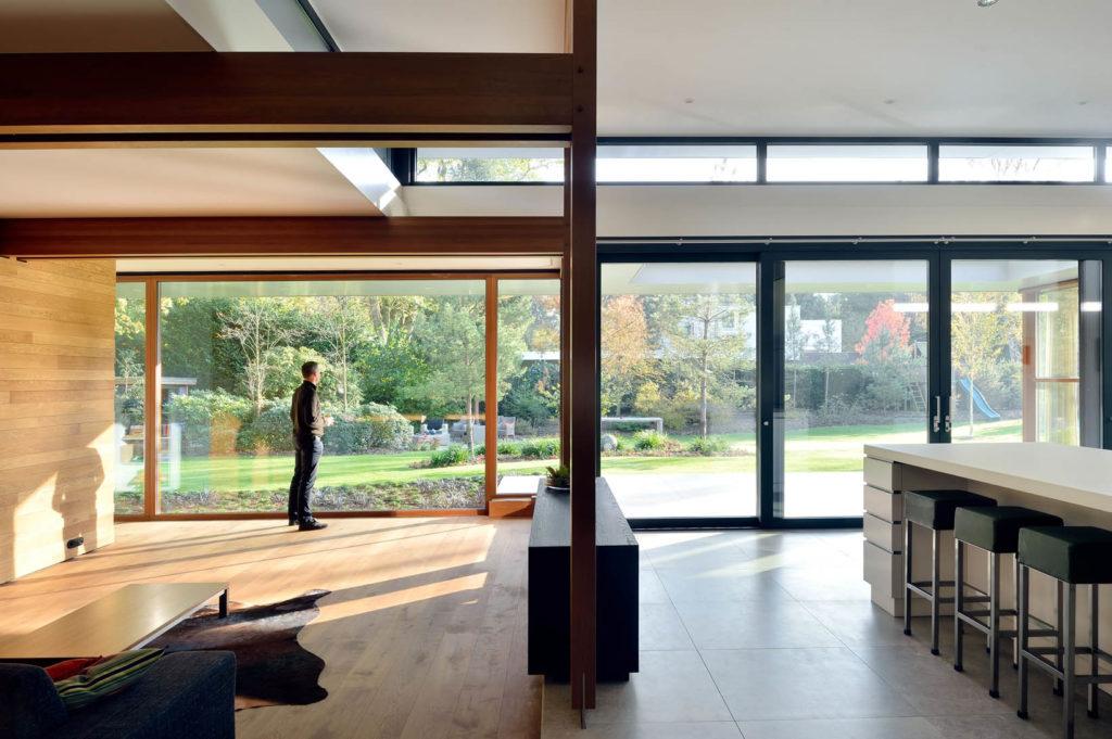 Familiehuis aan de Dommel in Son en Breugel door MAS architectuur en Lies Willers, beeld Mike Bink