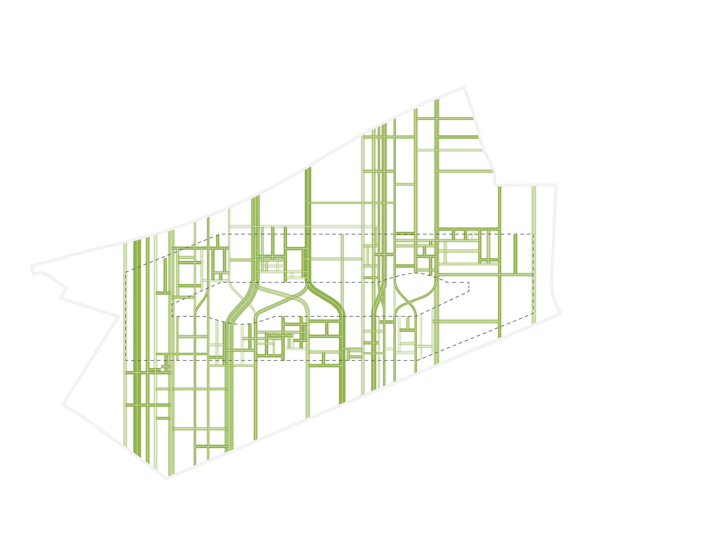 <p>Brainport Smart District in Helmond door UNStudio enFelixx, beeld Felixx</p>