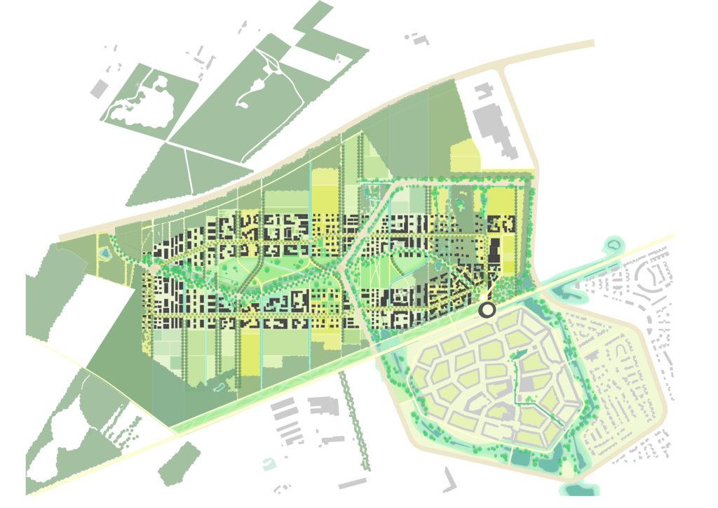 Brainport Smart District in Helmond door UNStudio enFelixx, beeld Felixx