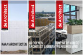 Verschenen: de Architect Monografieën Architectuur, Stedenbouw en Interieur