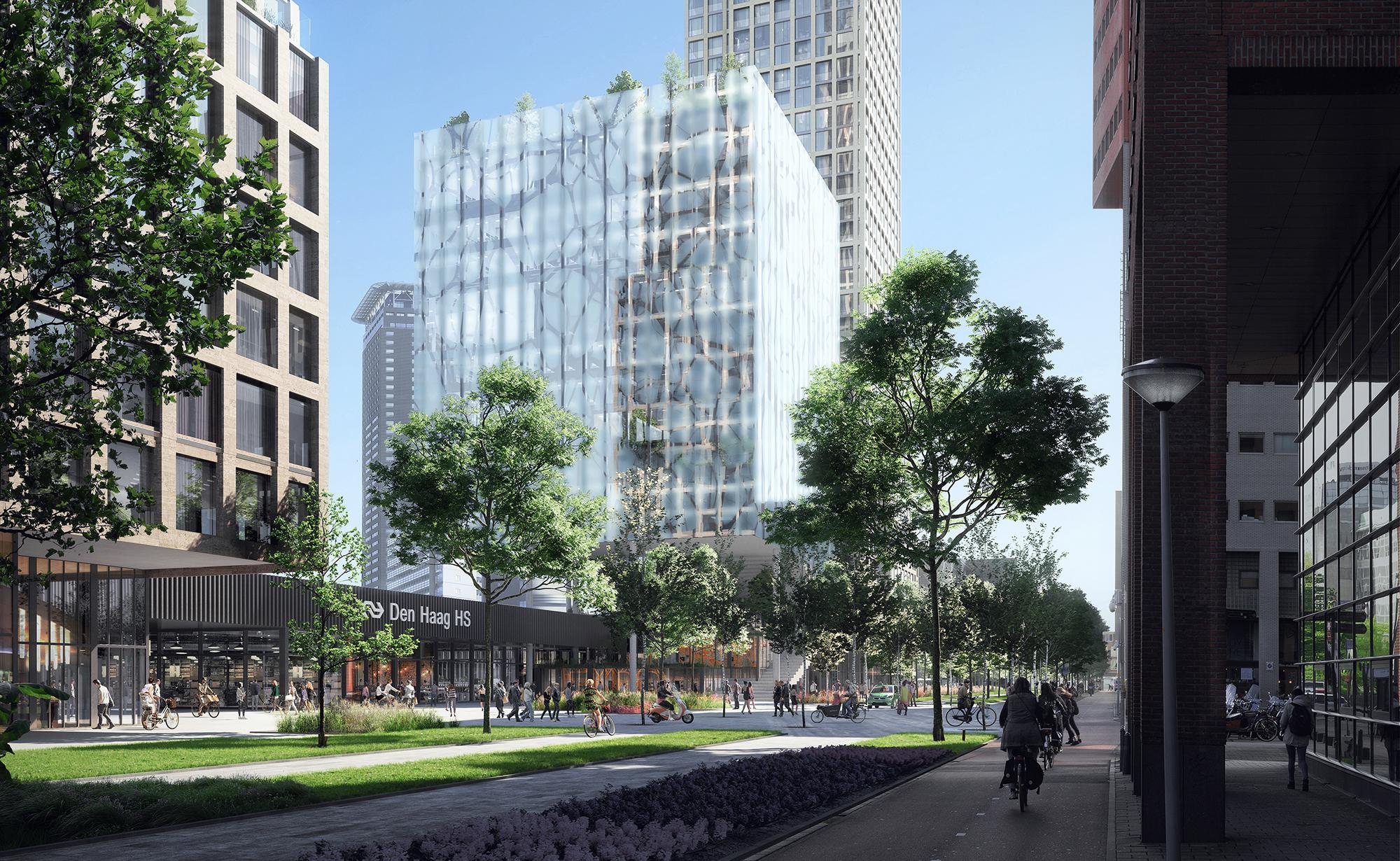 <p>HS Kwartier Den Haag door KCAP, beeld KCAP en WAX</p>