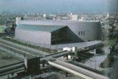 Technologisch wonder: Nara Centennial Hall in Japan door Arata Isozaki