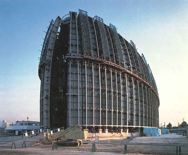 Nara Centennial Hall in Japan door Arata Isozaki, beeld Hisao Suzuki
