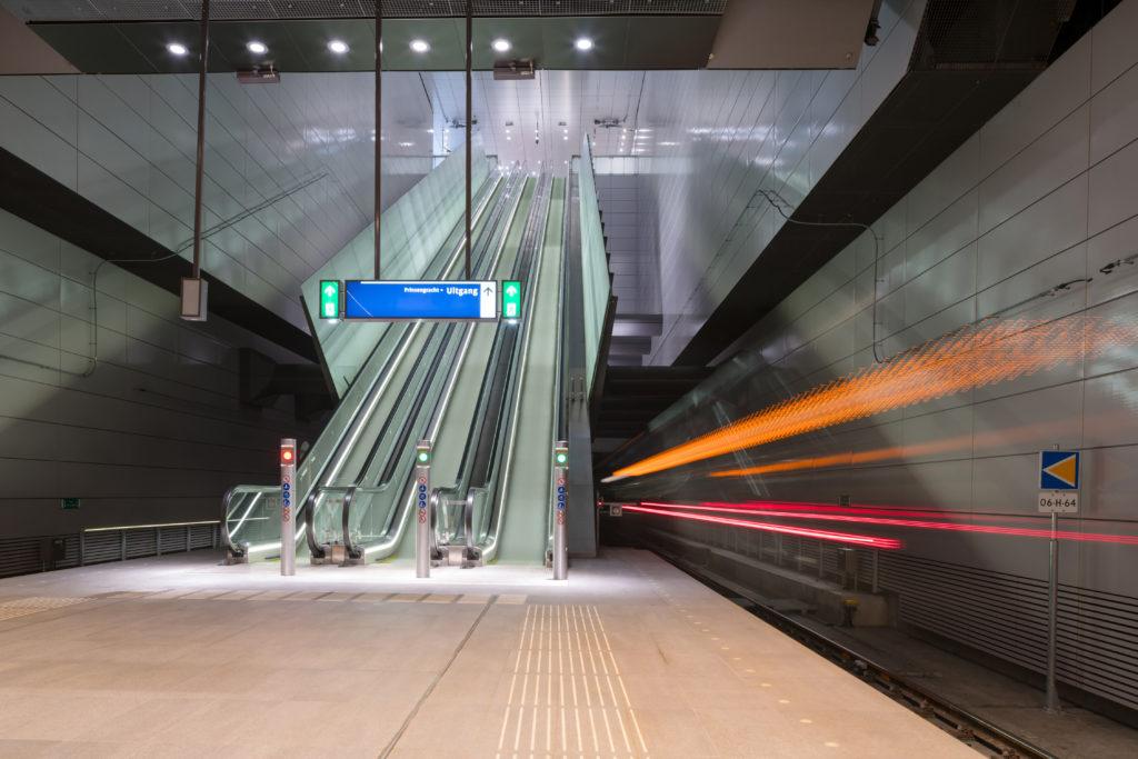 Noord Zuid lijn Amsterdam stations by Benthem Crouwel architects Amsterdam